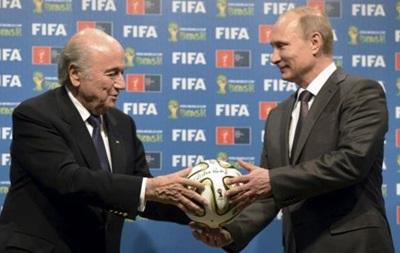 Путин: Блаттер заслужил Нобелевскую премию