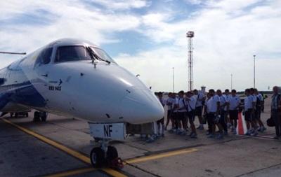 Ворскла прибыла в Словакию на матч Лиги Европы