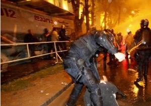 МВД Грузии наказало своих сотрудников за жестокий разгон оппозиции