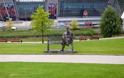 В парке Донбасс Арены появится скульптура Луческу