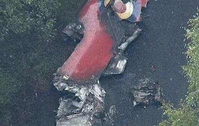 На фестивале в Великобритании потерпел крушение реактивный самолет