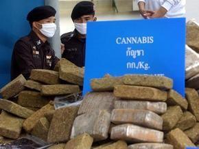 Полиция Таиланда изъяла у иностранцев тонну марихуаны