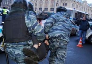 Московская полиция отшутилась от обвинений в избиении журналистки