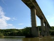 Мост, который открыла Тимошенко, рухнул через полтора месяца