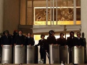 Полиция взяла под контроль правительственные здания в Кишиневе