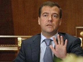 Неизвестный попытался прервать выступление Медведева в Кремле