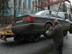 Киевским водителям расскажут, как освободить авто от блокиратора