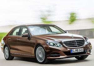 Появились первые фото нового Mercedes-Benz E-Class