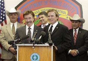 Чак Норрис стал почетным рейнджером Техаса