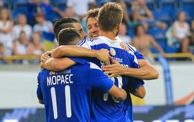 Динамо увозит победу из Днепропетровска