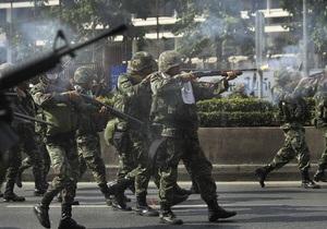 Правительство Таиланда намерено частично отменить режим чрезвычайного положения