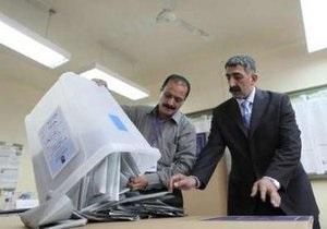 ЕС поздравил Ирак с проведением парламентских выборов