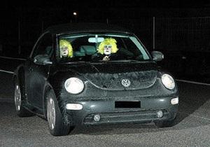 Швейцарская полиция за превышение скорости оштрафовала клоунов