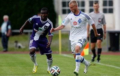 Динамо перевірить свої сили матчем з Андерлехтом
