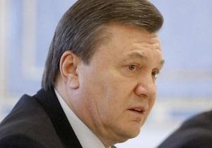 Янукович выразил соболезнования в связи со смертью мэра Мелитополя