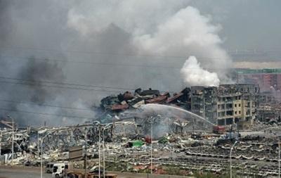 Число жертв взрыва на складе в Китае достигло 112 человек