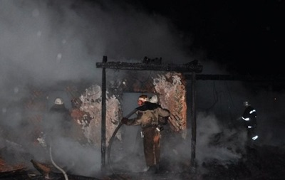 В курортной зоне Одессы сгорело кафе