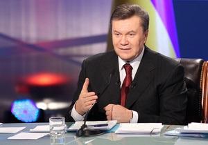 Янукович объяснил, что мешает журналистам говорить правду