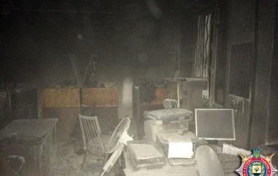 В Красноармейске Донецкой области сожгли военкомат