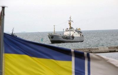 Украинский танкер впервые после аннексии Крыма вышел в море