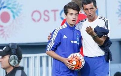 Сын Порошенко подавал мячи на матче Лиги Европы
