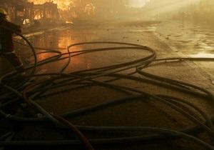 На Феофановском рынке в Киеве горели киоски