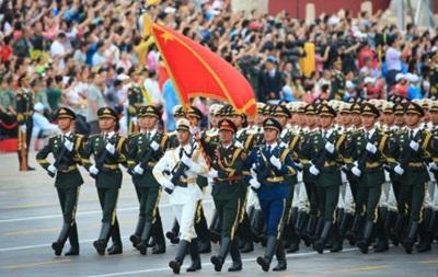 В Китае прошла репетиция гигантского военного парада