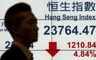 Шанхайский биржевой индекс упал более чем на 6% на открытии торгов