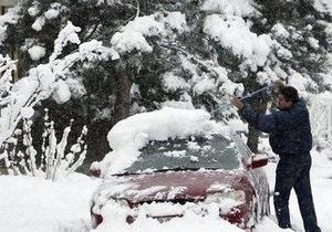 Штаты Нью-Йорк и Вермонт завалило снегом. Более 30 тысяч человек остались без электричества