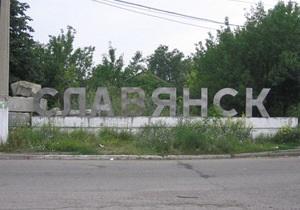 В Славянске обстреляли машину кандидата в депутаты, критиковавшего сына Азарова
