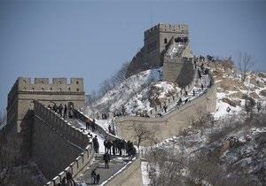 Великая китайская стена находится на грани разрушения из-за добывающих работ