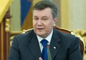 Янукович: Украина будет искать модели сотрудничества с ТС, не нарушая своих международных обязательств