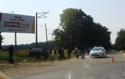 В Одессе произошло первое ДТП с участием новой полиции