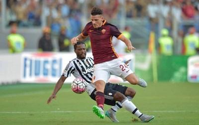 Ювентус споткнулся о Рому в чемпионате Италии