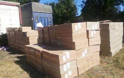 На Донбассе задержали крупную партию контрабандных сигарет