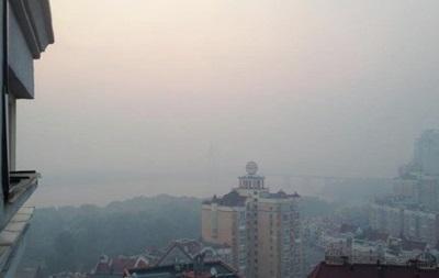Уровень загрязнения воздуха в Киеве превышен в десятки раз