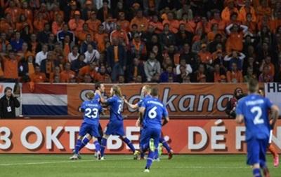 Евро-2016: Исландия победила Голландию и сохранила лидерство в группе