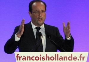 МВД: Олланда избрали президентом Франции
