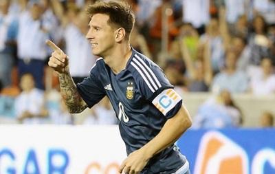 Мессі - перший аргентинець, який забив усім південноамериканським збірним