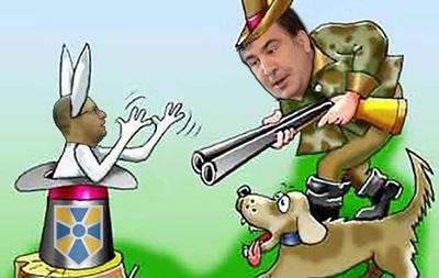 Сеть шутит над конфликтом Саакашвили и Яценюка
