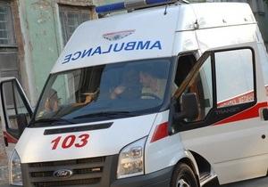В Харьковской области мужчина выпрыгнул с четвертого этажа горотдела милиции