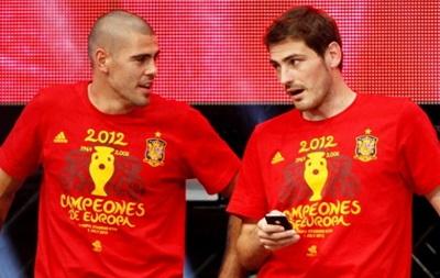 Касильяс ждет Вальдеса в сборной Испании
