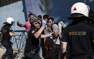 На Лесбосе произошли столкновения беженцев с полицией