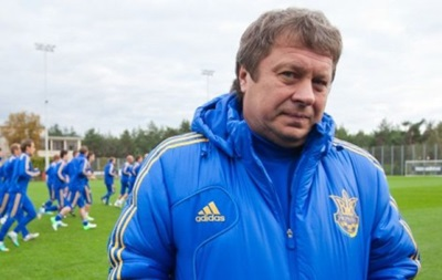 Тренер збірної України: Результат не дуже хороший для нас