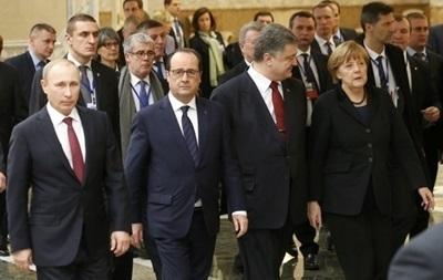 Порошенко, Меркель, Олланд и Путин договорились о встрече
