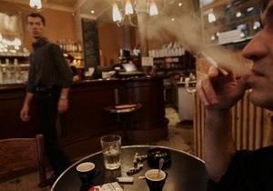 Эксперты: Подавляющее большинство киевских кафе нарушают закон об ограничении табакокурения