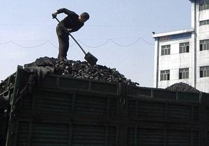 Украина в 2010 году увеличила добычу угля на 4,1%