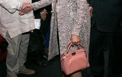 У Марины Порошенко заметили сумку за полмиллиона гривен