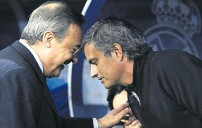 Президент Реала: Больше никогда не приглашу Моуринью в Мадрид
