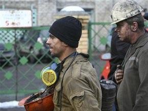 В Луганской области горняки сами потушили пожар на шахте